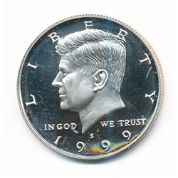 1999-S Kennedy Silver Half Dollar SILVER PROOF