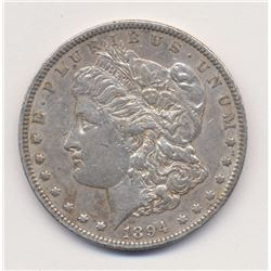 1894-O Extra Fine Quality Morgan Silver Dollar *VERY RARE, ROTATED REVERSE MINT ERROR*