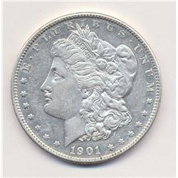 1901-P (Philidelphia) *RARE* AU58 Deep Mirror Proof Like (DMPL)