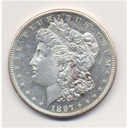 1897 San Francisco *MS64+ QUALITY & DEEP MIRROR PROOF LIKE* A STUNNING EXAMPLE OF A TRULY RARE AND E