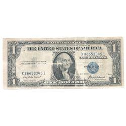 1935F United States Silver Certificate X86653345I