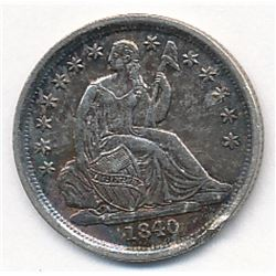1840-O No Drapery Liberty Seated Dime SUPER RARE!!