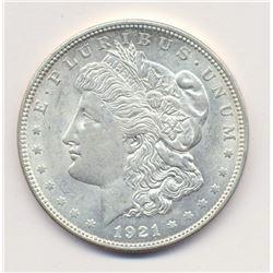 1921-P (PHILADELPHIA) MORGAN SILVER DOLLAR MS63 QUALITY
