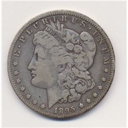 1895-O Fine Plus Beautiful Original Coin Morgan Silver Dollar