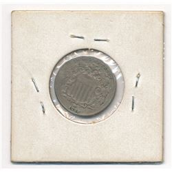 SUPER RARE! MINT ERROR!! 1882 Shield Nickel