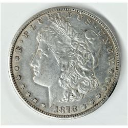 1878-CC Carson City Morgan Silver Dollar AU Detail Very Lusterous Example