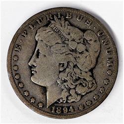 1894-S San Francisco Morgan Silver Dollar F+ Details