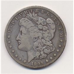 1895-O Fine Plus Beautiful Original Coin Morgan Silver Dollar