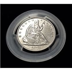 1875 50 Cent Peice MS63 Proof Like
