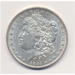 1884-O *AU 58 Quality* Morgan Silver Dollar