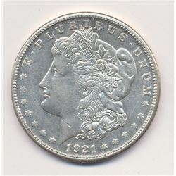 1921-S (SAN FRANCISCO) MORGAN SILVER DOLLAR MS63 QUALITY