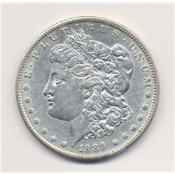1889 San Francisco *Almost Uncriculated Quality* Morgan Silver Dollar