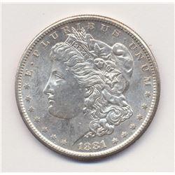 1881-S San Francisco *MS 64 Quality* Morgan Silver Dollar