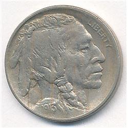 1913 Type 1 Buffalo Nickel AU58