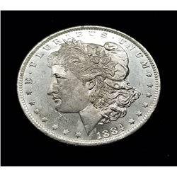 1884-O (NEW ORLEANS) MORGAN SILVER DOLLAR MS63/65 DMPL