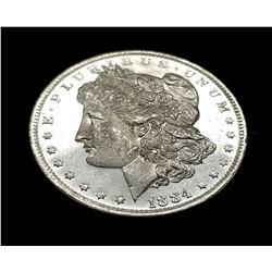 1884- O (NEW ORLEANS) MORGAN SILVER DOLLAR MS63/65 DMPL