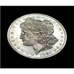 1884-O (NEW ORLEANS) MORGAN SILVER DOLLAR MS63/65 PLDMPL
