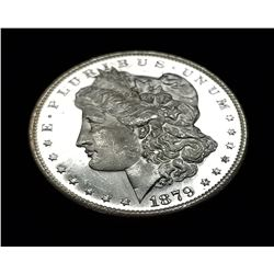 1879-S (SAN FRANSISCO) MORGAN SILVER DOLLAR MS66/67 PL