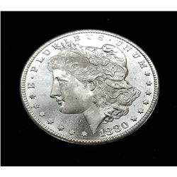 1880-S (SAN FRANSISCO) MORGAN SILVER DOLLAR MS66/67 PL