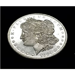 1884-O (NEW ORLEANS) MORGAN SILVER DOLLAR MS64 DMPL