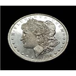 1884-O (NEW ORLEANS) MORGAN SILVER DOLLAR MS63/65 PL/DMPL