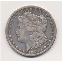 """1879-CC Carson City *Very Fine Quality* Clear """"CC"""" as opposed to Capped"""