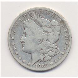 1885-S *Fine Condition* Morgan Silver Dollar