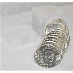 1952 MINT CONDITION ROLL OF WASHINGTON/ CARVER SILVER HALF DOLLARS (20-COINS)