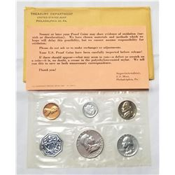 1961 United States Mint Uncirculated Philidephia Coin Set