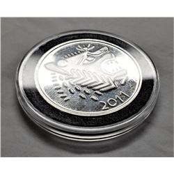 2011 Lydian 1 Troy Oz. . 999 Fine Silver Round With Air - Tite Bu