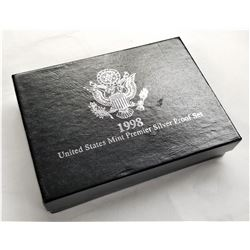 1998 United States Mint Premier Silver Proof Set