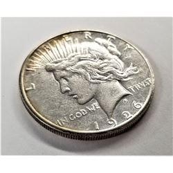 1926-S Silver Peace Dollar