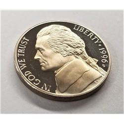 1996-S Jefferson Nickel