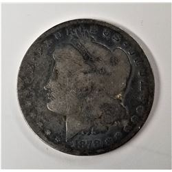 1878-CC Morgan Silver Half Dollar Key Date