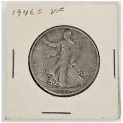 1946-S Walking Liberty Half Dollar VF