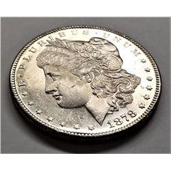 1878-S MS64 Morgan Silver Dollar