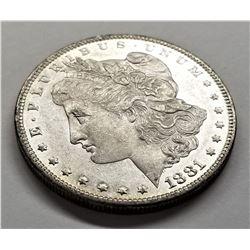 1881-O MINT Morgan Silver Dollar