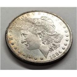 1884-P MS64+ Morgan Silver Dollar