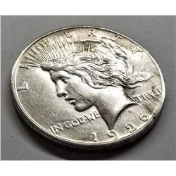 1926-S XF Peace Dollar