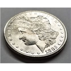 1882-S MS64 PL Morgan Silver Dollar