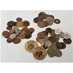 Miscellaneous Lot of Canadian, Foreign and Ancient Coins