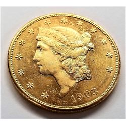 1903-S MS63 PL $20 Liberty Gold