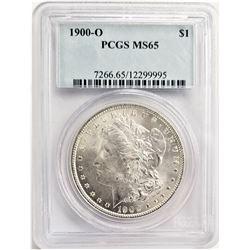 1900-O $1 PCGS MS65 MORGAN SILVER DOLLAR