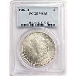 1902-O $1 PCGS MS65 MORGAN SILVER DOLLAR