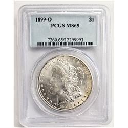1899-O S$1 PCGS MS65 MORGAN SILVER DOLLAR