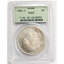 1883-O $1 PCGS MS65 MORGAN SILVER DOLLAR OGH