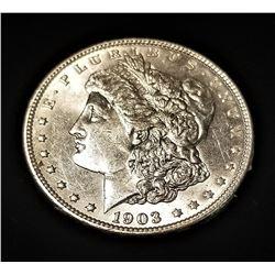 1903-P SILVER MORGAN DOLLAR