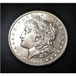 1889-P SILVER MORGAN DOLLAR