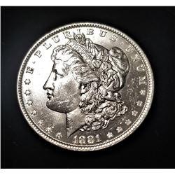 1881-P SILVER MORGAN DOLLAR