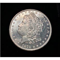 1878-S AU SILVER MORGAN DOLLAR
